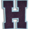 Single Felt Full Block Chenille Varsity Letter