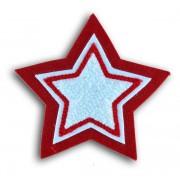 Plain Double Felt Star Patch